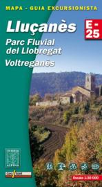 Wandelkaart Lluçanes, Parc Fluvial Llobegrat | Editorial Alpina | Centrale Pyreneeën | 1:25.000 | ISBN 9788480904599