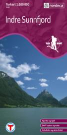 Wandelkaart Indre Sunnfjord 2481 | Nordeca | 1:100.000 | ISBN 7046660024812