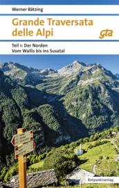 Wandelgids Grande Traversata della Alpi 1 | Rotpunkt verlag | ISBN 9783858696809