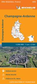 Wegenkaart Champagne - Franse Ardennen 2021 | Michelin 17515 | ISBN 9782067249684
