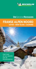 Reisgids Franse Alpen Noord - Savoie - Mont-Blanc - Dauphiné   Michelin groene gids   ISBN 9789401465113