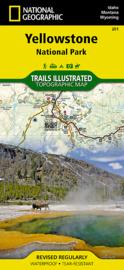 Wandelkaart Yellowstone NP   National Geographic   1:126.000   ISBN 9781566952958