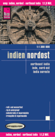 Wegenkaart Noordoost India | Reise Know How | ISBN 9783831771929
