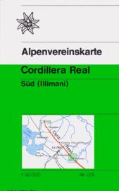 Wandelkaart - Trekkingkaart Cordillera Real Süd - Illimani | DAV  | 1:50.000 | ISBN 5425013061964
