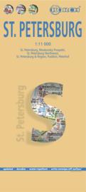 Stadskaart St. Petersburg | Borch | 1:11.000 | ISBN 9783866093348