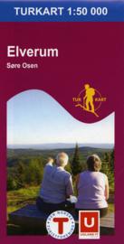 Wandelkaart Elverum 2220 | Nordeca | 1:50.000 | ISBN 7046660022207