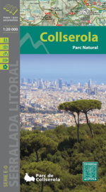 Wandelkaart Serra de Collserola | Editorial Alpina | 1:20.000 | ISBN 9788480904346