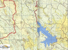 Wandelkaart Krk - Kroatie | Smand Map 20 | 1:25.000 | ISBN 9789537163228