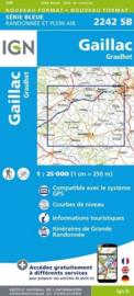 Topo-, wandelkaart Gaillac - Graulhet |  IGN 2242SB | ISBN 9782758533283