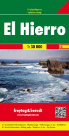 Wandelkaart El Hierro | Freytag & Berndt  | 1:30.000 | ISBN 9783707912883
