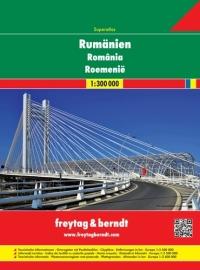 Wegenatlas Roemenie - Rumanien Superatlas | Freytag & Berndt | ISBN 9783707913743