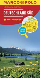Wegenkaart Duitsland Zuid | Marco Polo | 1:500.000 | ISBN 9783829738194