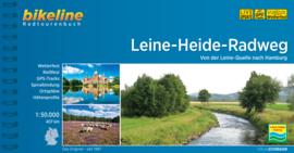 Fietsgids Leine Heide Radweg - 410 km.  | Bikeline | ISBN 9783850008679