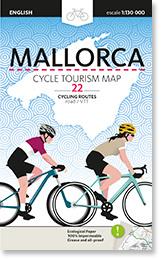 Fietskaart Mallorca voor Wielrenners | Triangle Postal | ISBN 9788484788546