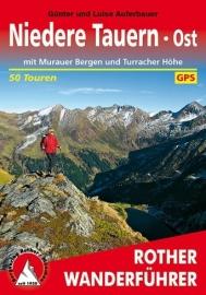 Wandelgids Niedere Tauern Ost mit Murauer Bergen und Turracher Höhe | Rother | ISBN 9783763344536