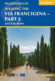 Wandelgids Via Francigena deel 3 : Lucca to Rome | Cicerone | ISBN 9781786310798