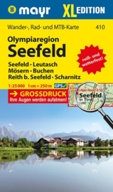 Wandelkaart Seefeld - Wetterstein XL | Walter Mayr 410 | 1:25.000 | ISBN 9783850260565