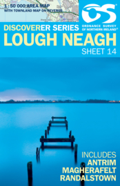 Wandelkaart Lough Neagh | Discovery Northern Ireland 14 - Ordnance survey | 1:50.000 | ISBN 9781905306657