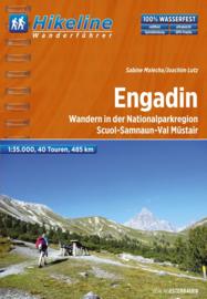 Wandelgids Engadin | Hikeline | ISBN 9783850005821