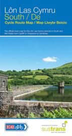 Fietskaart Wales - Lon Las Cymru South | Sustrans | ISBN 9781910845486