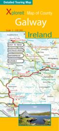Fietskaart - Wegenkaart Galway (Ierland) | Xploreit map | 1:100.000 | ISBN 9780955265532