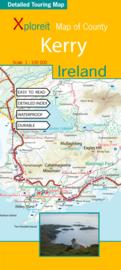 Fietskaart - Wegenkaart Kerry (Ierland) | Xploreit | 1:100.000 | ISBN 9780955265518