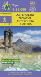 Wandelkaart Asterousia- Phaistos - Kreta | Anavasi 11.18 | 1:25.000 | ISBN 9789609412360
