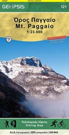 Wandelkaart Mt Paggaio | Geopsis 121 | 1:23.000 | ISBN 9789609960229