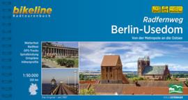 Fietsgids Berlin / Berlijn - Usedom Radfernweg - 340 km | Bikeline | ISBN 9783850004411