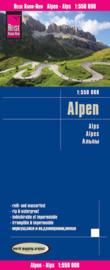 Wegenkaart Alpen | Reise Know How | 1:550.000 | ISBN 9783831774005