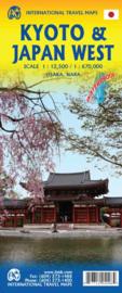 Wegenkaart  Kyoto & Japan West | ITMB | 1:1:12,500 / 1:670,000 | ISBN 9781771294096