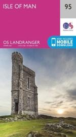 Wandelkaart Isle of man | Ordnance Survey Landranger Map 95 | 1:50.000 | ISBN 9780319261934