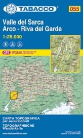 Wandelkaart Valle del Sarca - Arco - Riva del Garda | Tabacco 55 | 1:25.000 | ISBN 9788883150975
