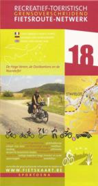 Sportoena fietskaart 18 Hoge Venen, Oostkantons en Eifel | Fietsroute-Netwerk | ISBN 9789078976080