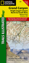 Wandelkaart Grand Canyon | National Geographic | 1:35.000 | ISBN 9781566954952