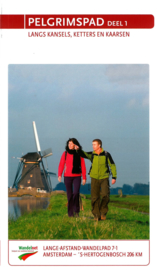 Wandelgids Pelgrimspad | LAW 7.1 -  NIVON | Amsterdam - Den Bosch 206 km | ISBN 9789071068942
