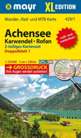 Wandelkaart Achensee, Karwendel & Rofan XL | Walter Mayr 429 | 1:25.000 | ISBN 9783850266826