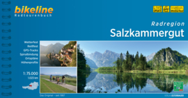 Fietsgids Salzkammergut Radatlas - 1300 km   Bikeline   Fietsen ten oosten van Salzburg   ISBN 9783850000574