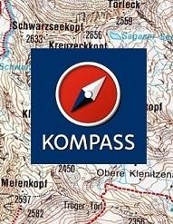 Overzicht Kompass wandelkaarten Vorarlberg
