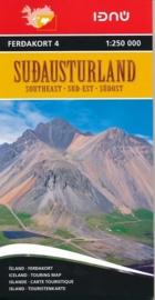 Wegenkaart Sudausturland - zuidoostelijk IJsland | Ferdakort nr. 4 | 1:250.000 | ISBN 9789979674245