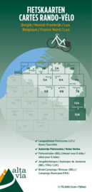 Fietskaart  Luxemburg & Moezel | Alta Via 12 | 1: 75.000 | ISBN 9789082714456
