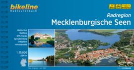 Fietsgids Radatlas Mecklenburgische Seen - 1000 km | Bikeline | ISBN 9783850008709