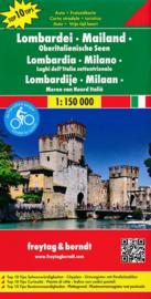 Wegenkaart Lombardei - Mailand - Oberitalienische Seen | Freytag & Berndt | 1:150.000 | ISBN 9783707916591
