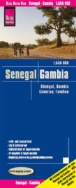 Wegenkaart Gambia en Senegal | Reise Know How | 1:550.000 | ISBN 9783831773657