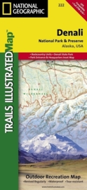 Wandelkaart Denali NP | National Geographic | 1:225.000 | ISBN 9781566953283