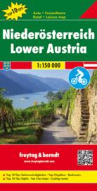 Fiets- & Wegenkaart Niederösterreich | Freytag & Berndt 01 | 1:200.000 | ISBN 9783707904420