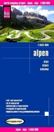 Wegenkaart Alpen | Reise Know How | 1:550.000 | ISBN 9783831774005