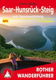 Wandelgids Saar-Hunsrück-Steig mit Soonwaldsteig | Rother Verlag | ISBN 9783763345212