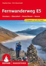 Wandelgids Rother Fernwanderweg-Europese wandelweg E5 | Rother Verlag | ISBN 9783763343577
