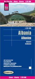 Wegenkaart Albanien | Reise Know How | 1:220.000 | ISBN 9783831772674